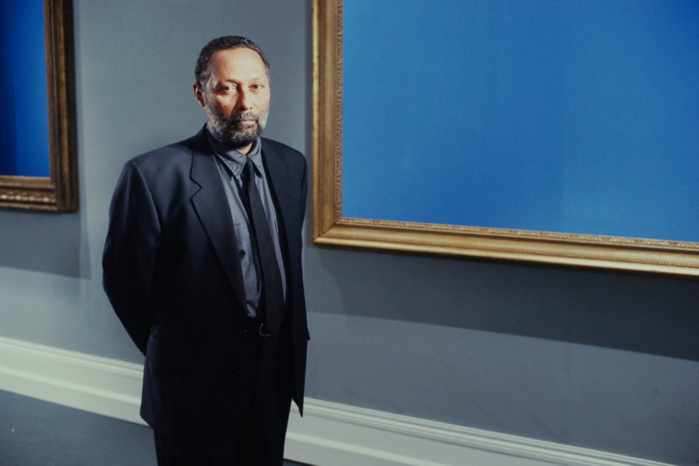 "Stuart Hall on the set of The Attendant, 1993 (35mm film, colour, 5.1 sound, 8' 10"")"