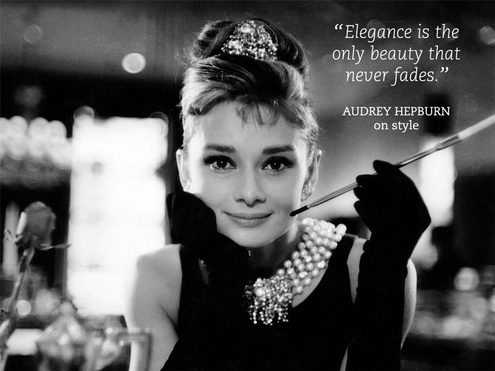 Quotes by marilyn monroe and audrey hepburn quotesgram for Famous black and white christmas movies