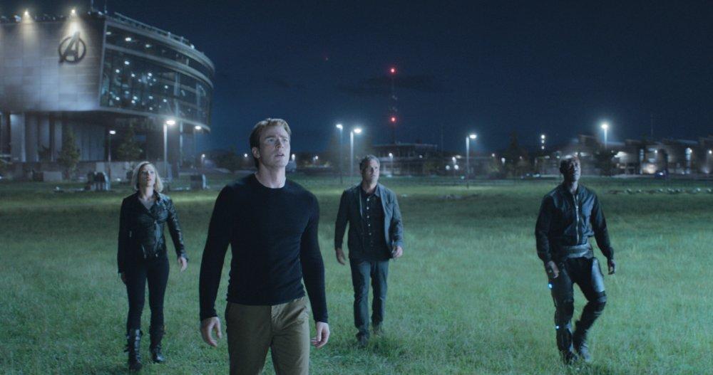 Scarlett Johansson as Natasha Romanoff / Black Widow, Chris Evans as Steve Rogers / Captain America, Mark Ruffalo as Bruce Banner / Hulk and Don Cheadle as James Rhodes / War Machine