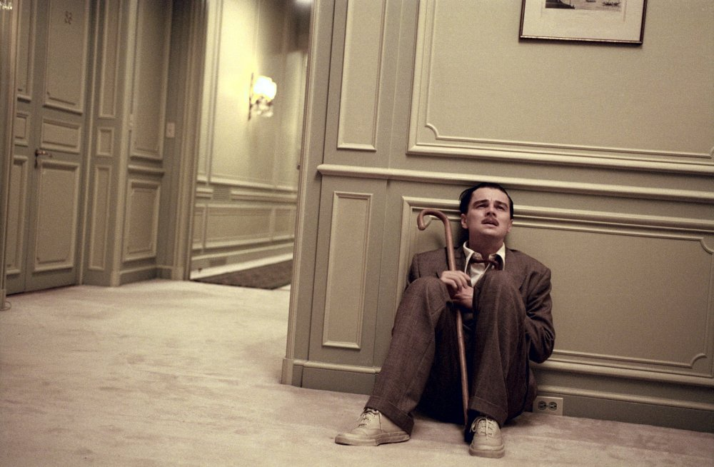 The solitary moment: Leonardo di Caprio as Howard Hughes in The Aviator (2004)