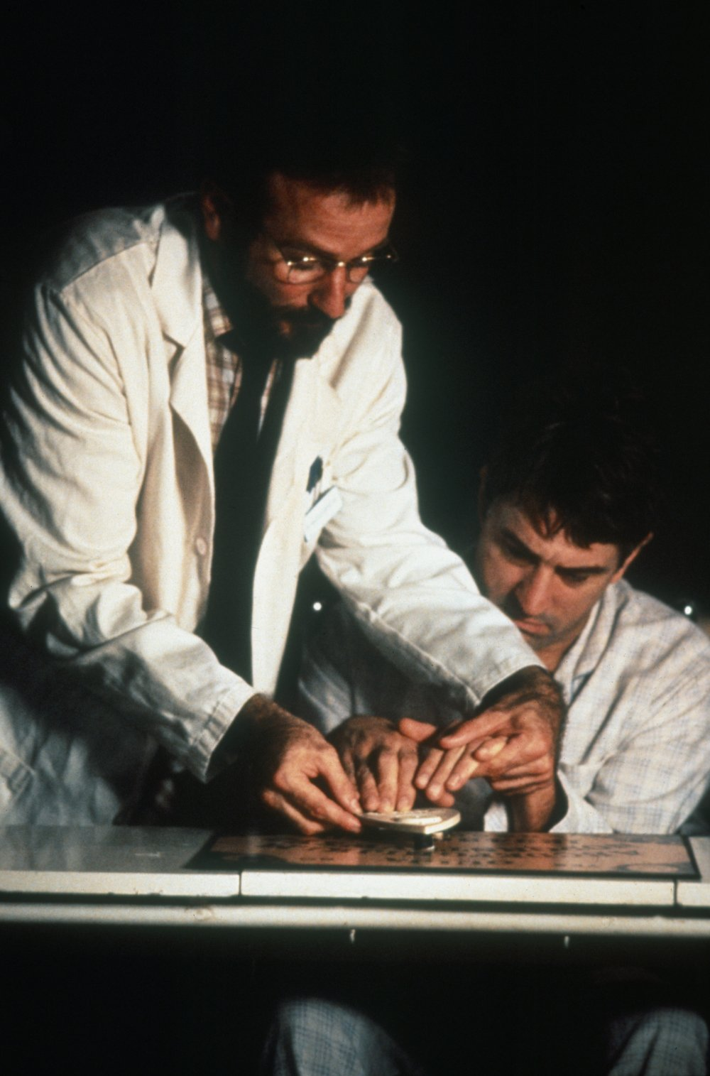 Williams was teamed with Robert De Niro in Penny Marshall's Awakenings (1990), based on a memoir by British neurologist Oliver Sacks
