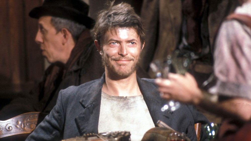 Bowie playing the title role in Alan Clarke's telemovie Brecht adaptation, Baal (1982)