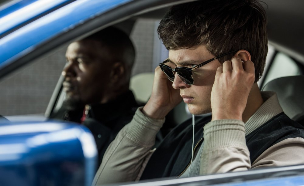 Need for speed: Ansel Elgort as Baby, a young getaway driver with tinnitis
