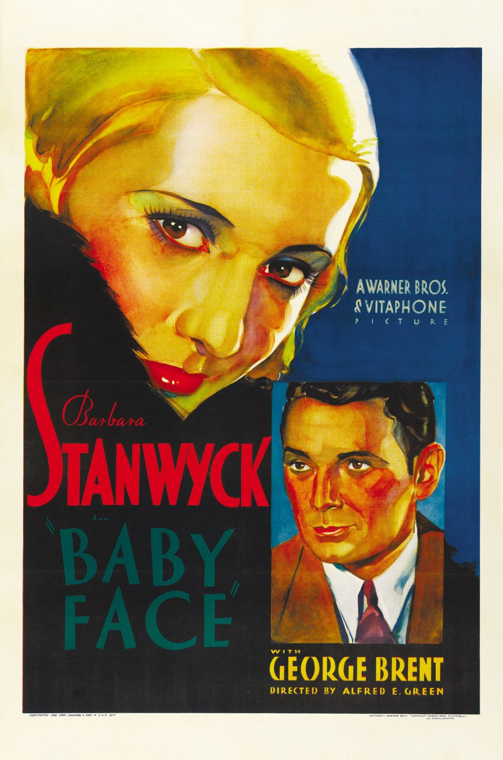 Baby Face (1933) poster