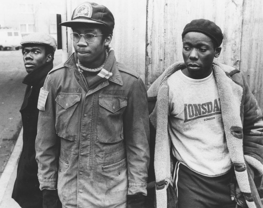 <strong>Babylon (1980)</strong>: Beefy (Trevor Laird), Spark (Brian Bovell) and Errol (David N. Haynes). Filmed on the streets on Deptford and Brixton, Franco Rossi's film mirrored the social inequalities in Britain in the 1980s, becoming a cult hit at late shows and film theatres