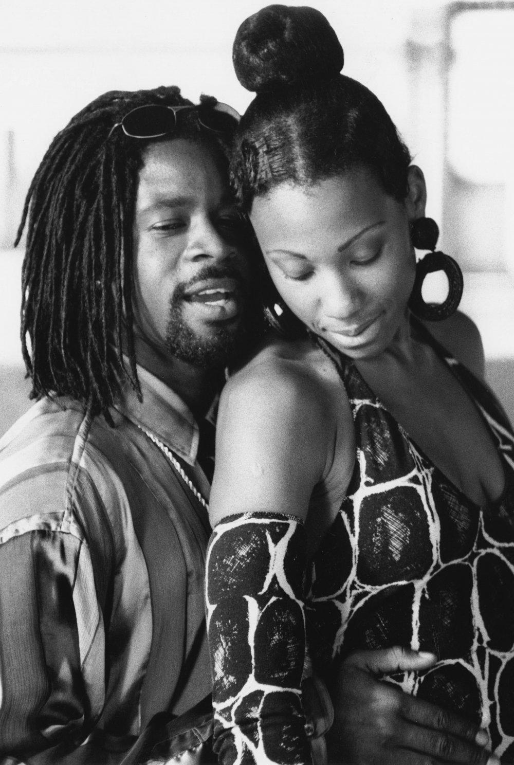 Anita with her husband Byron (Wil Johnson)