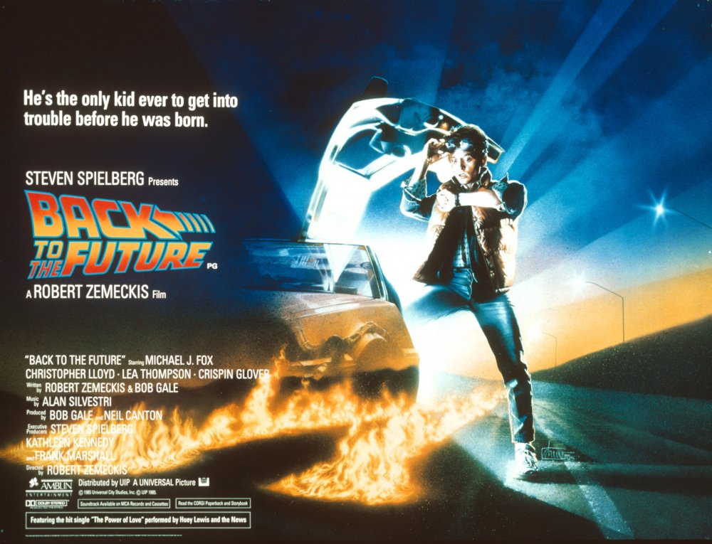 Back to the Future (1985) poster