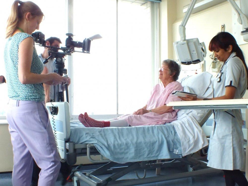 Filming Barbara's Story (2012-13)