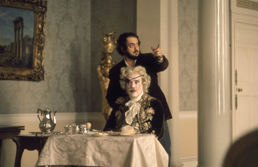 Kubrick with actor Patrick Magee as the Chevalier de Balibari. Barry is employed by the Prussians to befriend the Chevalier, whom they suspect is a spy, and to report on his activities