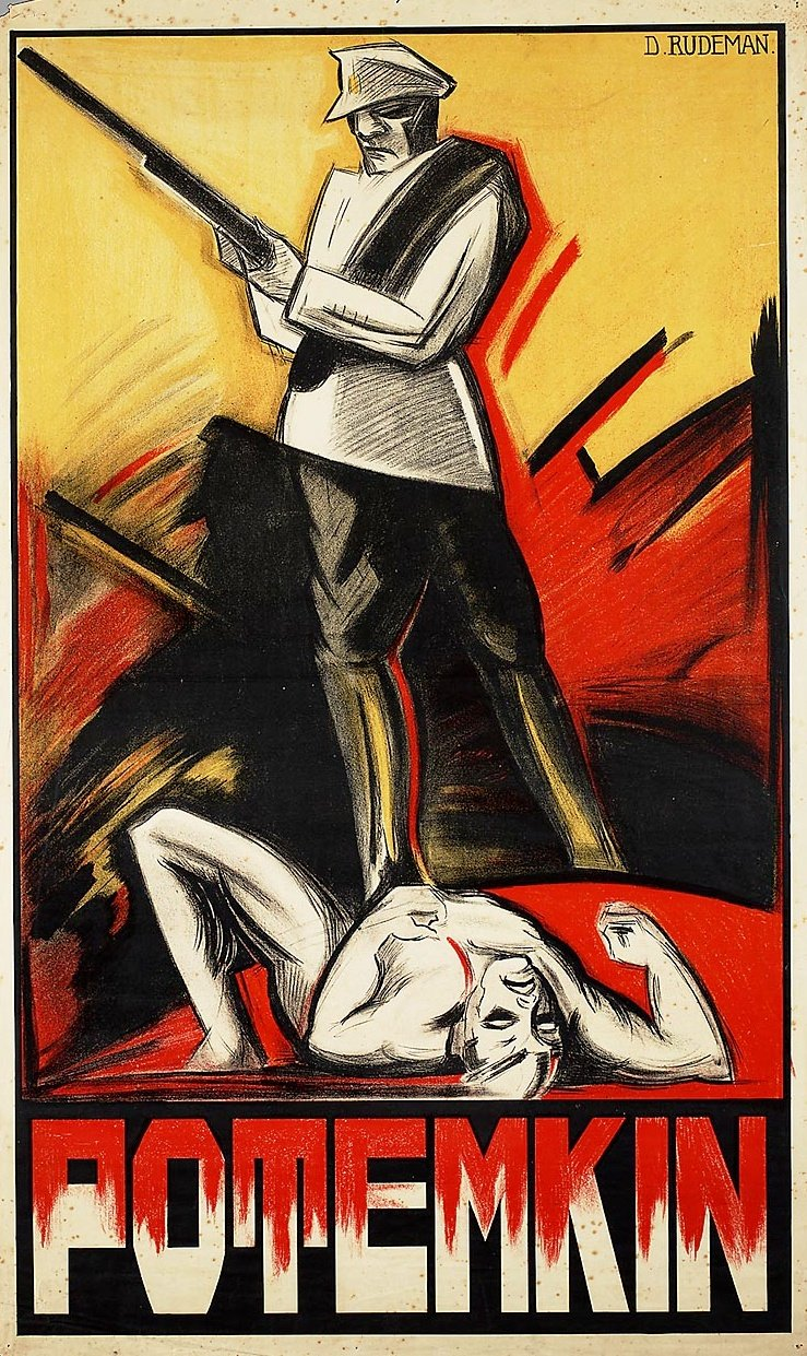 Dolly Rudeman's poster for Battleship Potemkin (1925)