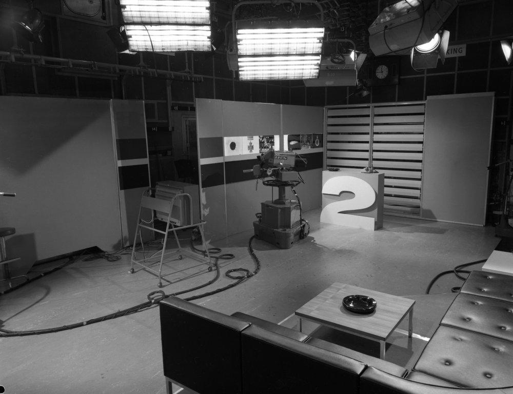BBC2 studio