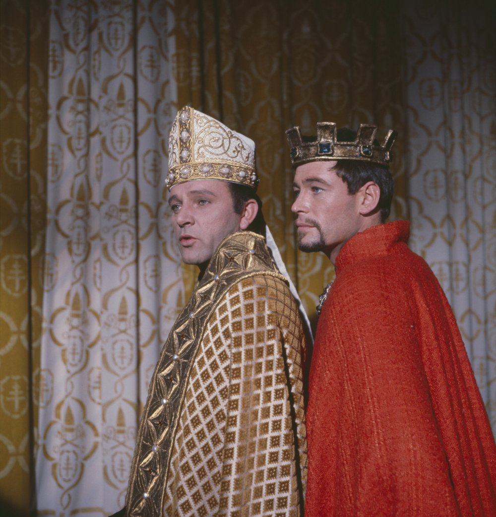 Playing King Henry II to Richard Burton's Thomas Becket in Peter Glenville's 1964 historical drama Becket. Both stars were nominated for the Oscar for best actor, but lost out to Rex Harrison in My Fair Lady (1964)