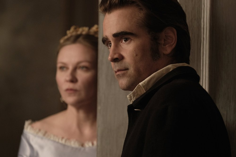 Dunst as Edwina and Colin Farrell as McBurney