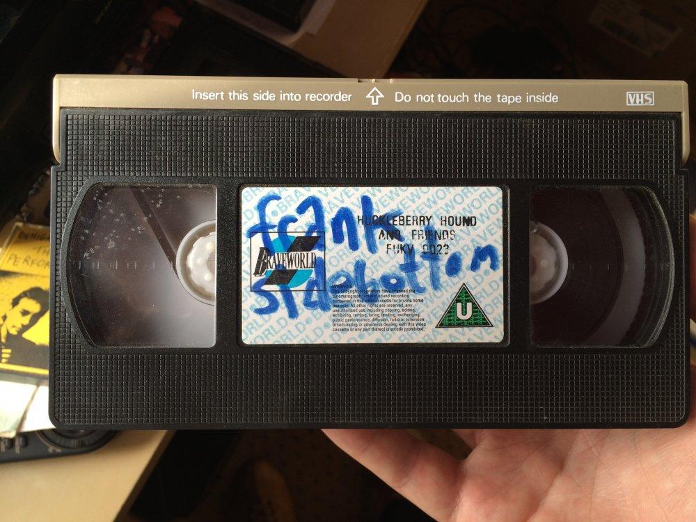 "Frank's Huckleberry Hound <span class=""amp"">&</span> Friends VHS"