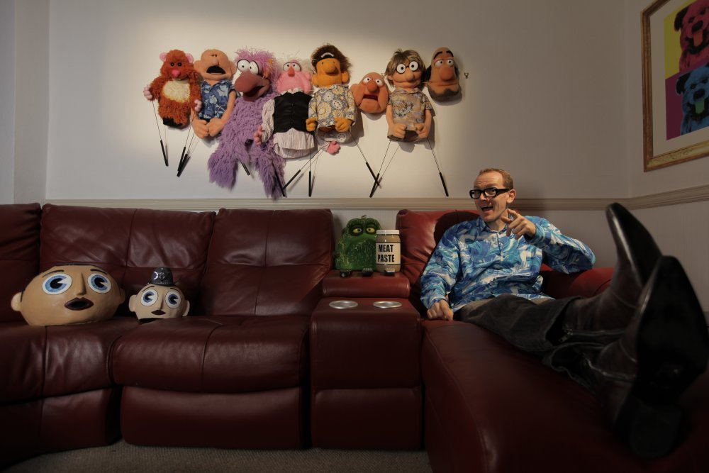 Puppeteer Phil Fletcher interviewed in Being Frank: The Chris Sievey Story (2019)