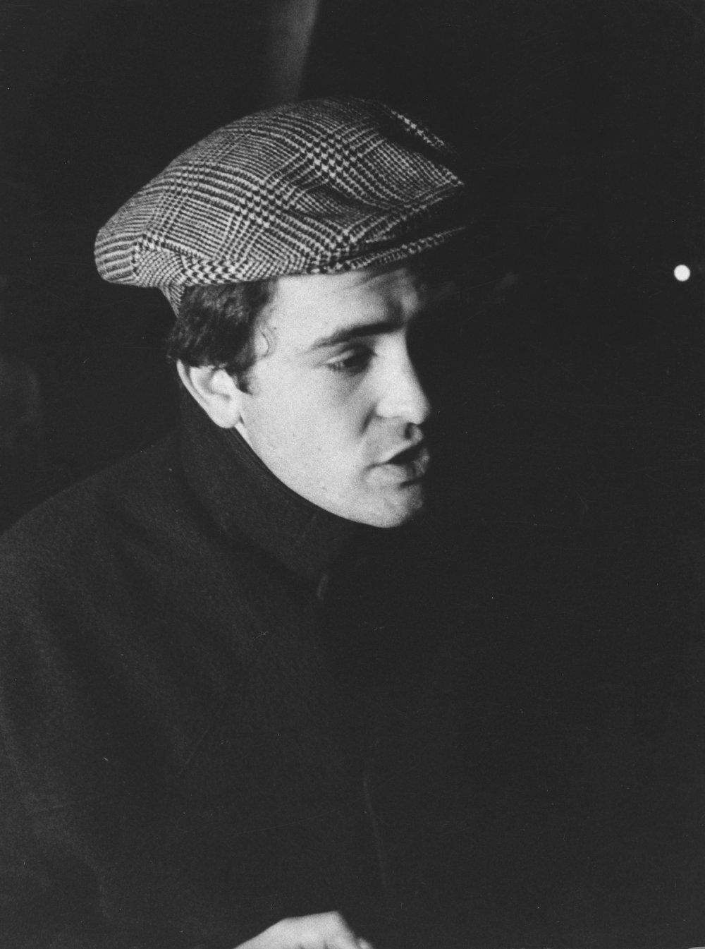 A young Bernardo Bertolucci