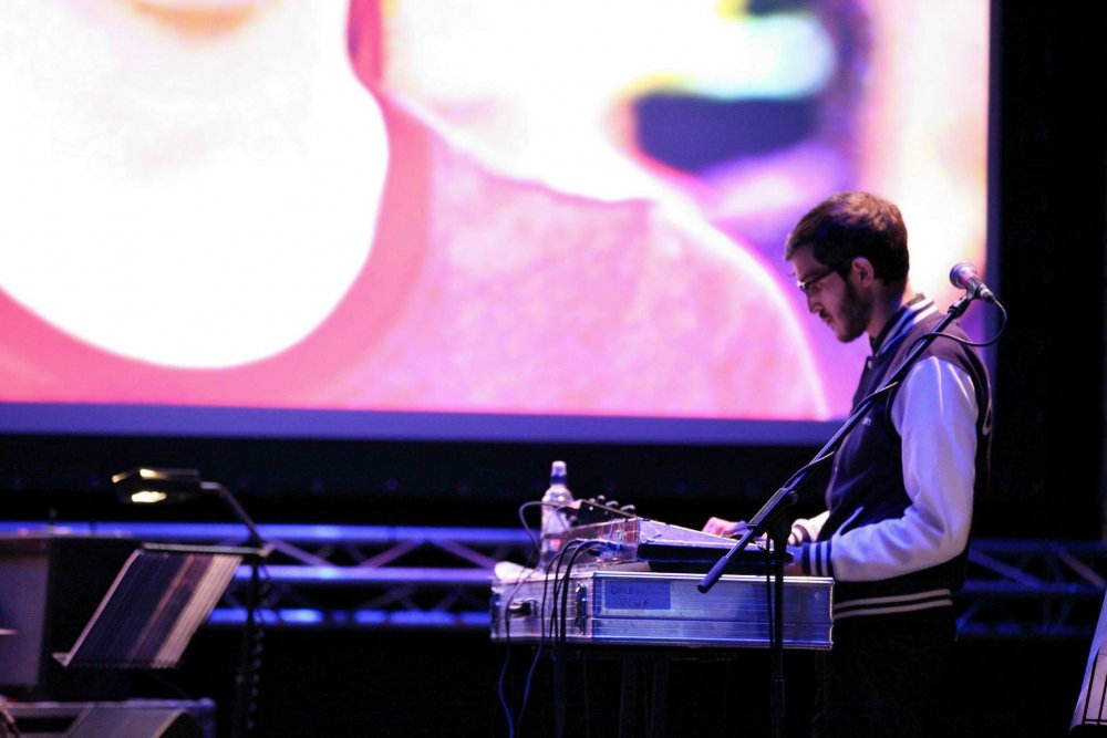 Summer Camp playing a live soundtrack to Beyond Clueless (2014) at the Sheffield Crucible