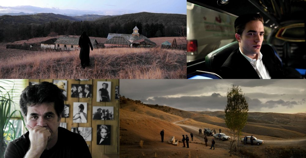 Clockwise from top left: Beyond the Hills; Cosmopolis; Once Upon a Time in Anatolia; This is Not a Film.
