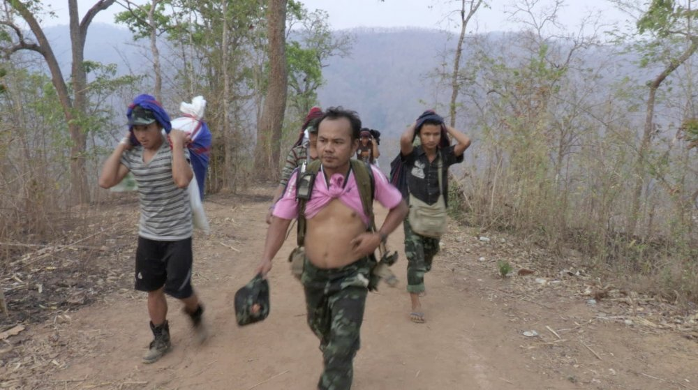 Backpacker medics on the Burma-Thai border in Beyond the Salween River