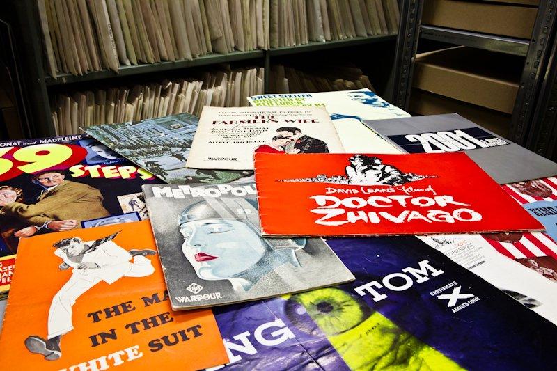 BFI pressbooks collection
