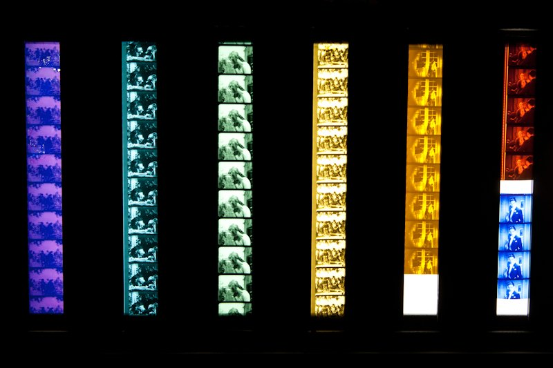 Examples of film tinting and toning