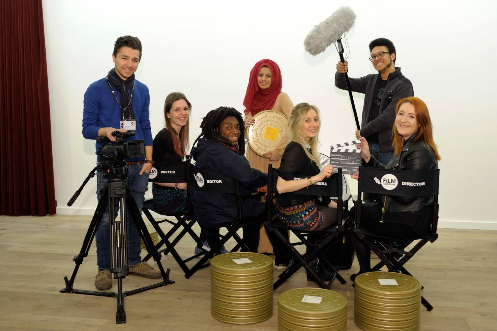 Graduates from last year's Film Academy