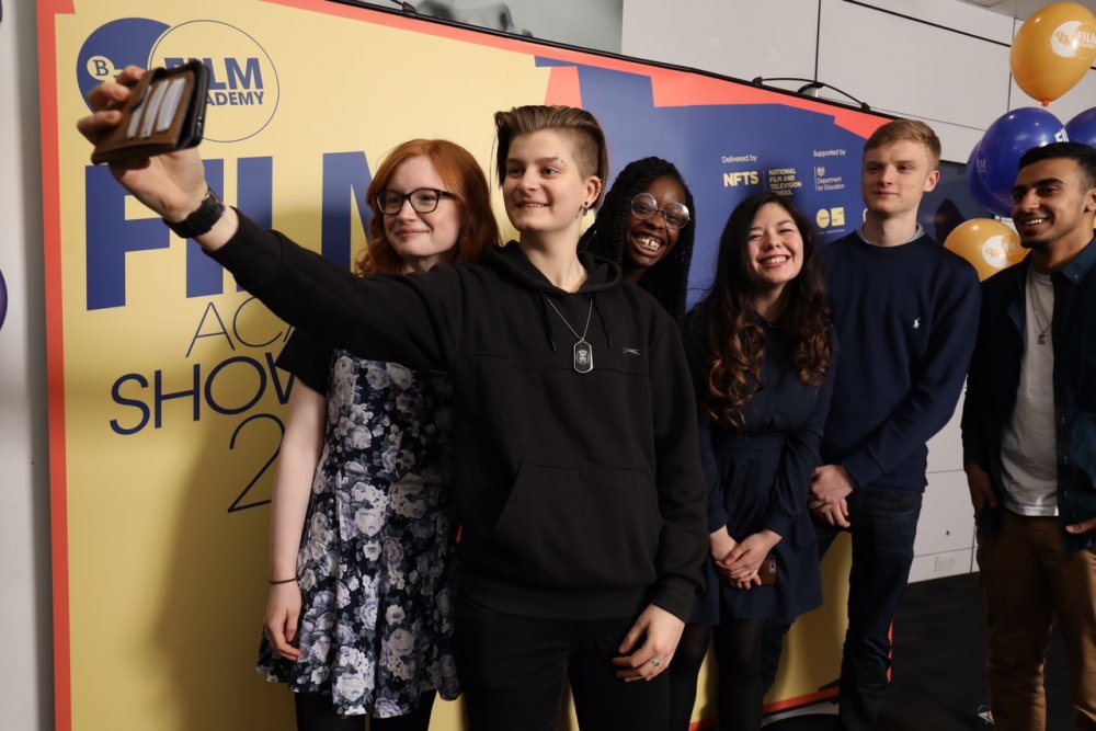 BFI Film Academy graduates 2018