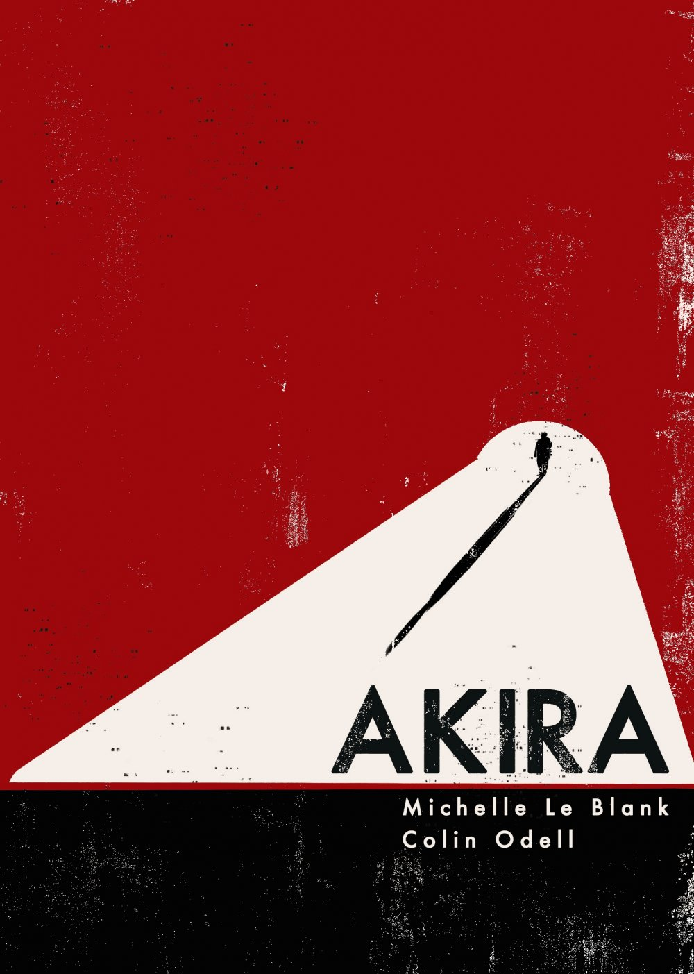 Winning design for the Akira cover by Samantha Holmlund