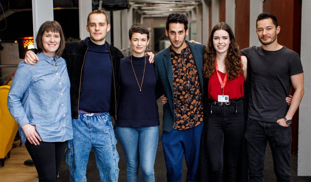 2017 BFI Flare mentees (from left to right): Gillian Callan, Harry Lighton, Georgia Oakley, Amrou Al-Kadhi, Savannah James-Bayly, Jake Graf