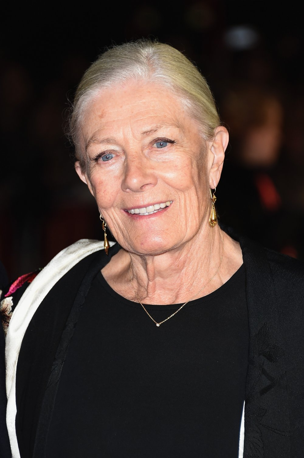Vanessa Redgrave on the red carpet for Foxcatcher during the 58th BFI London Film Festival