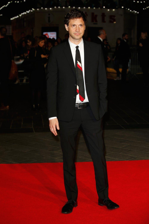 Bennett Miller on the red carpet for Foxcatcher during the 58th BFI London Film Festival