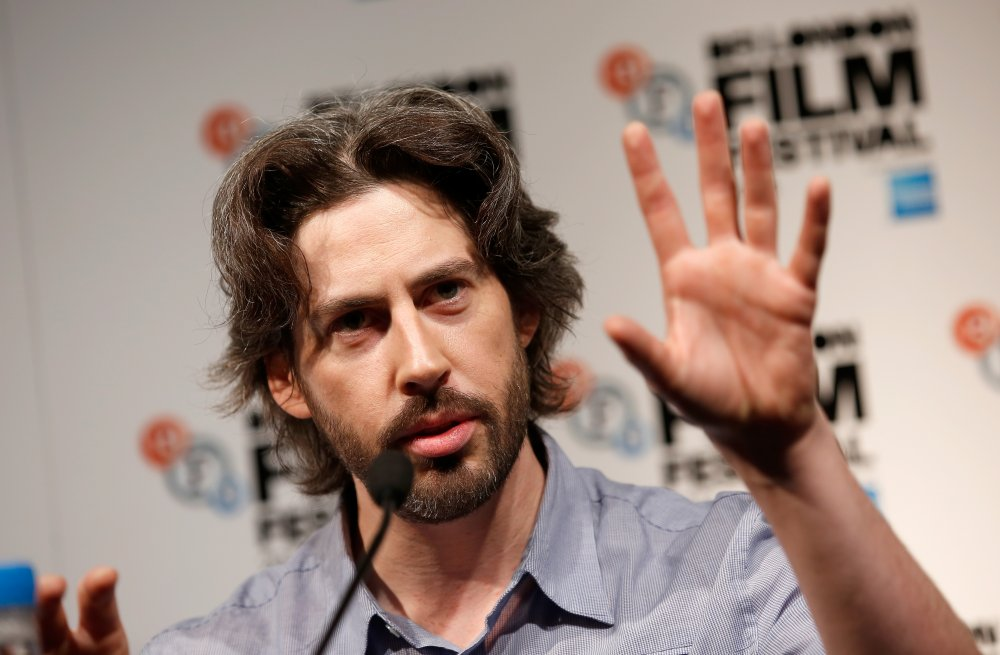 Jason Reitman at the press conference for Men, Women & Children at the 58th BFI London Film Festival