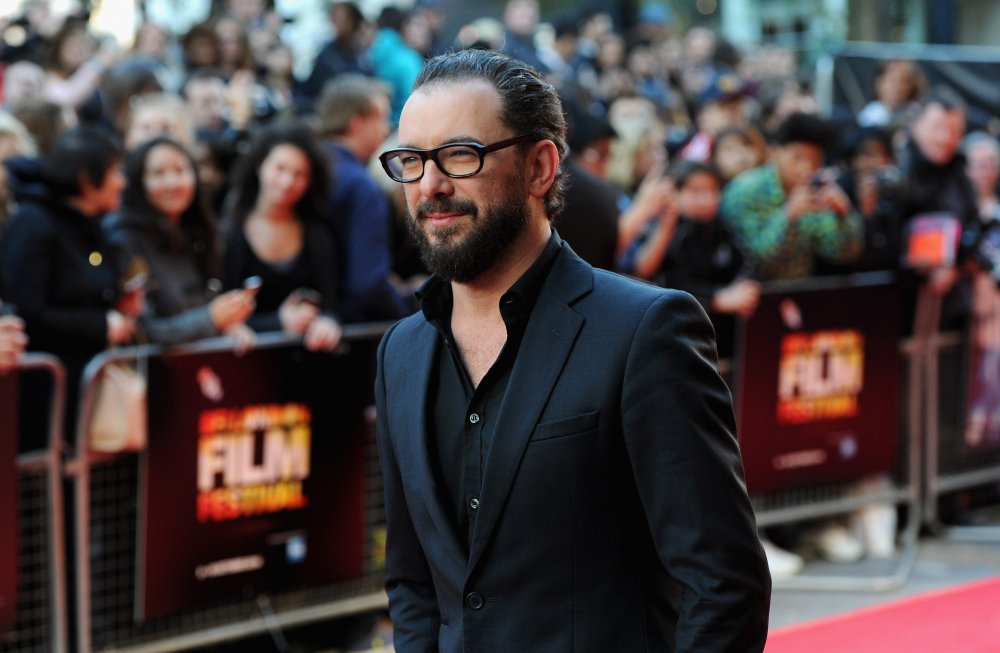 Michaël R. Roskam on the red carpet for The Drop at the 58th BFI London Film Festival