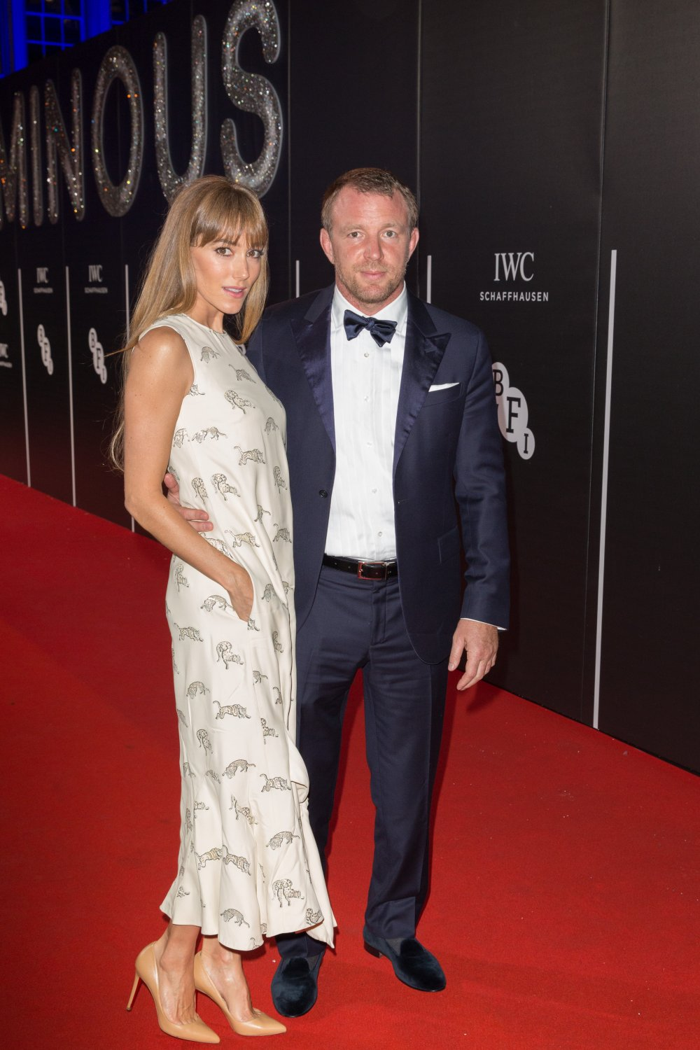 Guy Ritchie and Jacqui Ainsley attends the BFI LUMINOUS gala 2015
