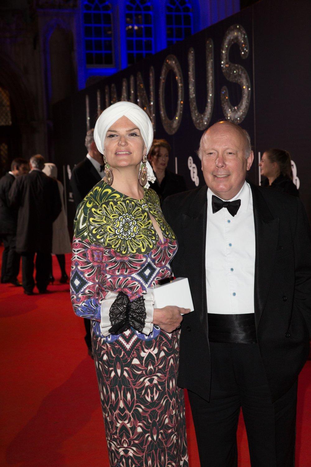 Julian Fellowes attends the BFI LUMINOUS gala 2015