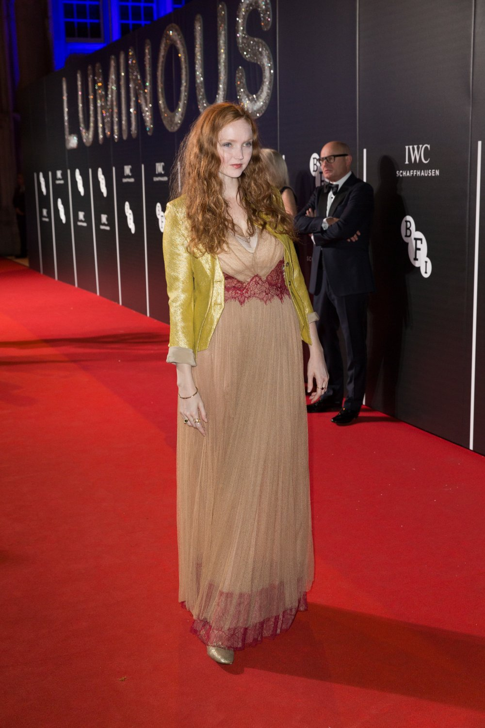 Lily Cole attends the BFI LUMINOUS gala 2015