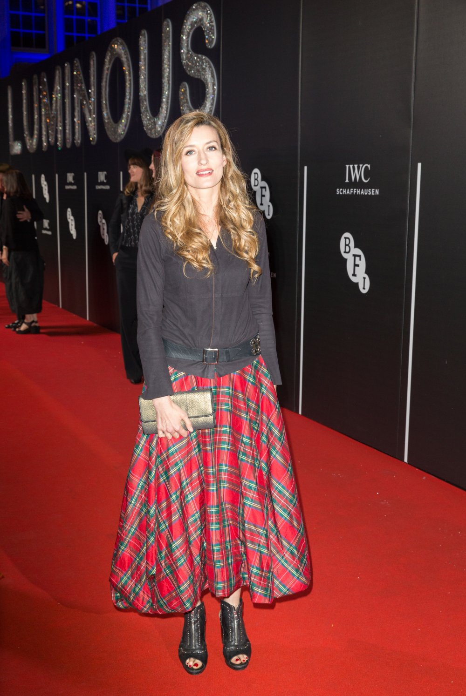 Natascha McElhone attends the BFI LUMINOUS gala 2015