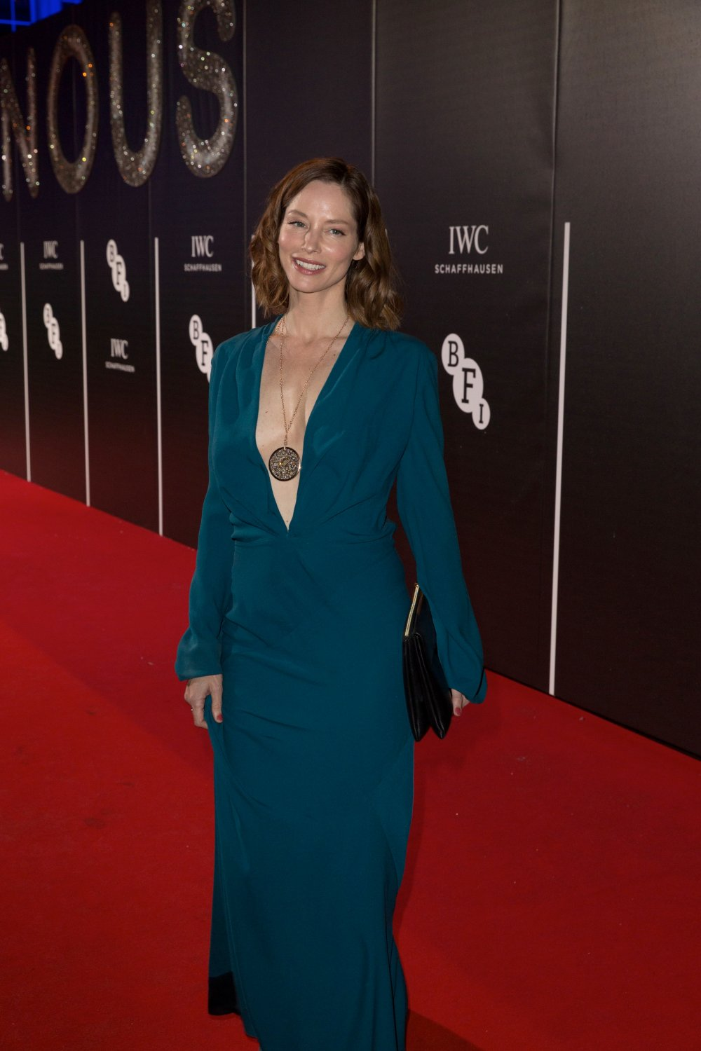 Sienna Guillory attends the BFI LUMINOUS gala 2015