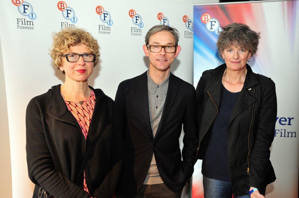 BFI Film Fund Senior Executive Lizzie Francke, Into Film Chief Executive Paul Reeve, Dark Horse director Louise Osmond