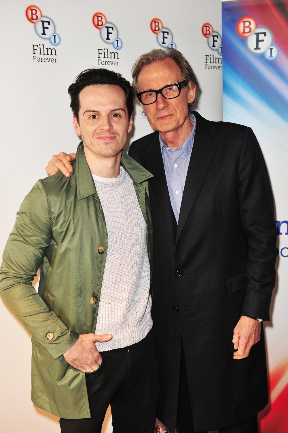 Pride cast members Andrew Scott and Bill Nighy