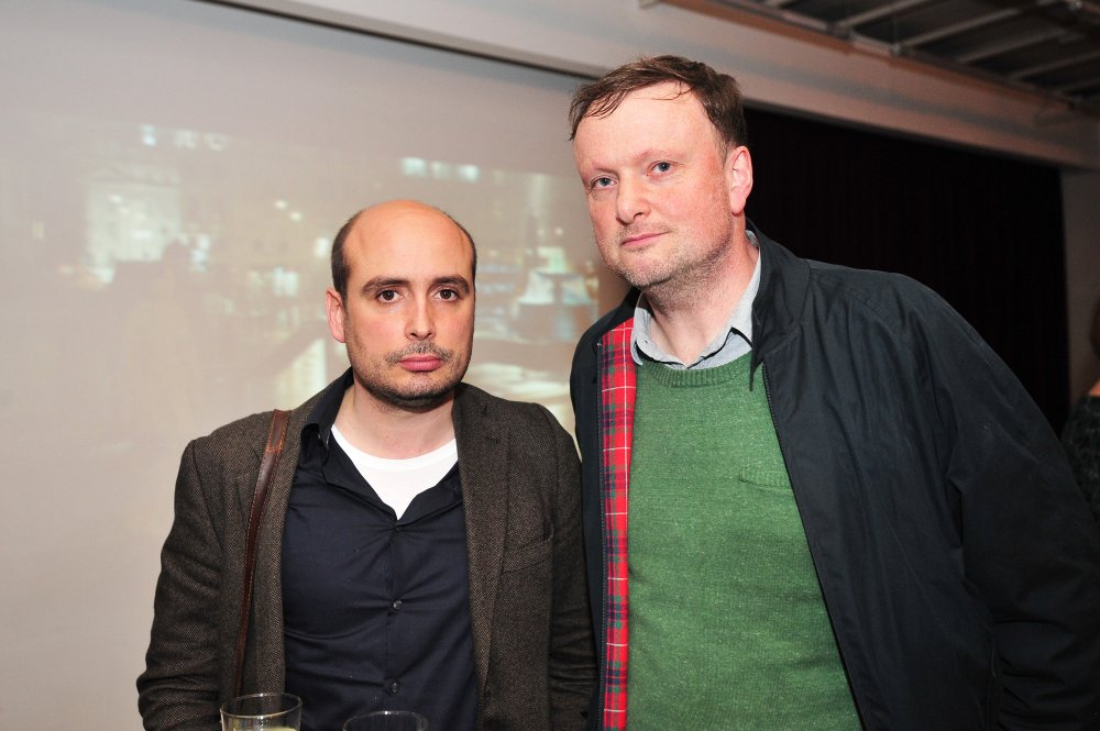 Director Peter Strickland (Berberian Sound Studio; Duke of Burgundy) and producer Andy Starke of Rook Films