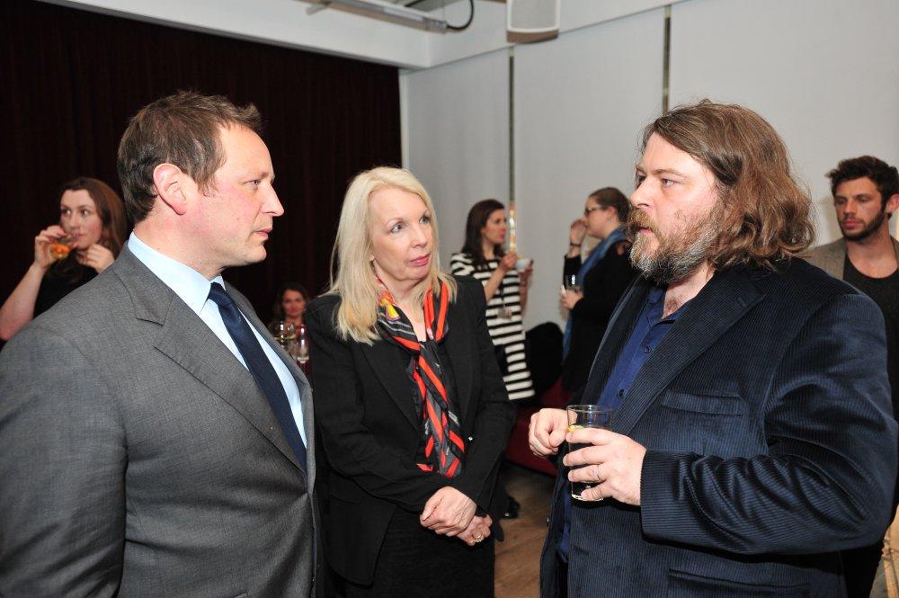 Ed Vaizey, Amanda Nevill and Sightseers director Ben Wheatley