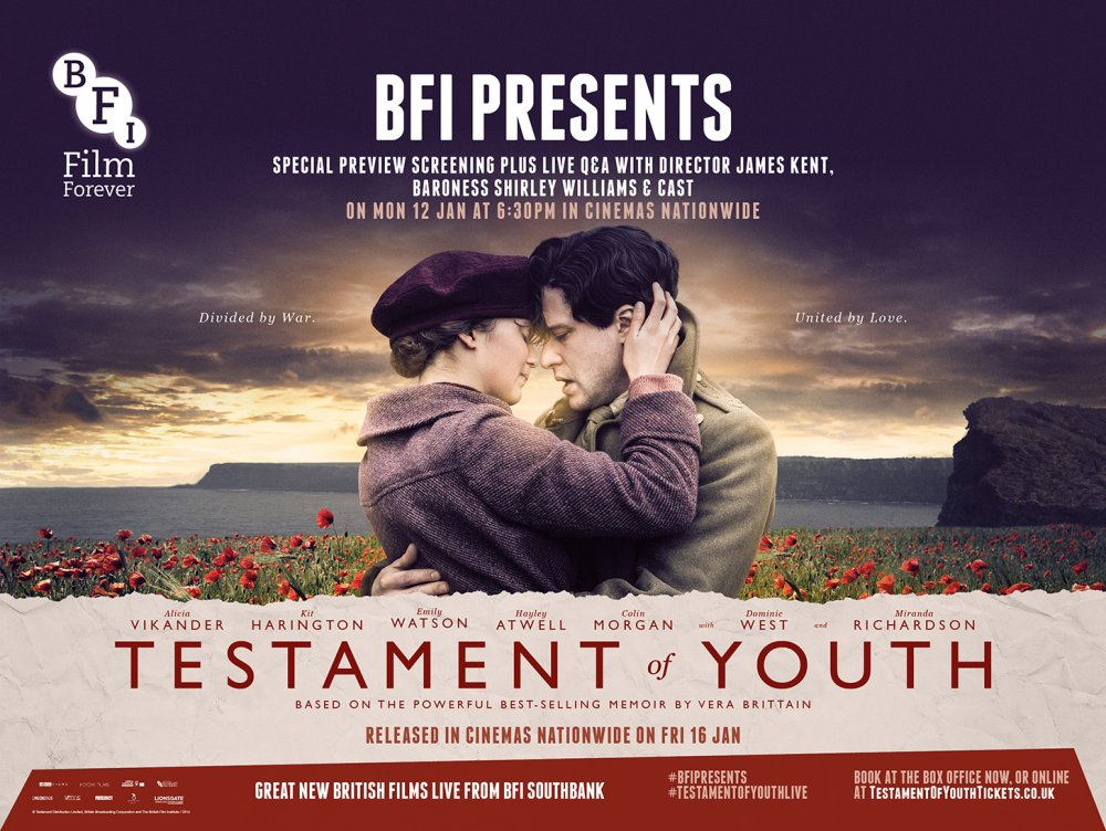 BFI Presents Testament of Youth