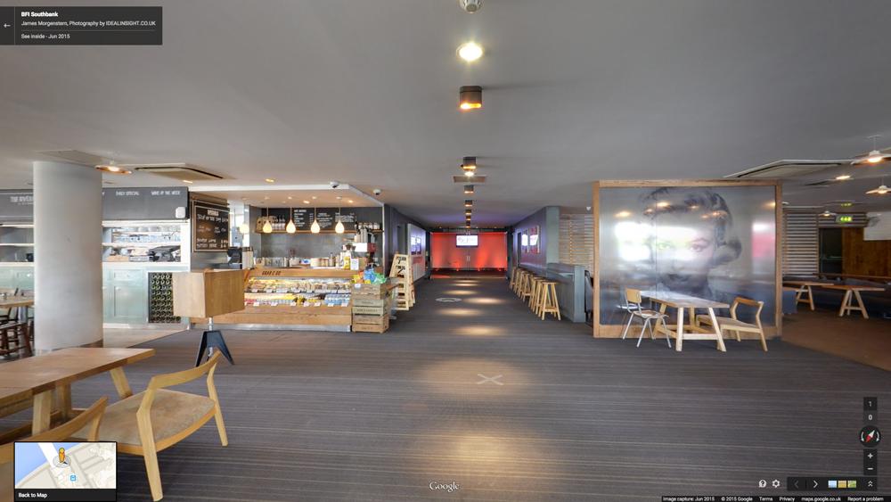 BFI Southbank Google Maps tour