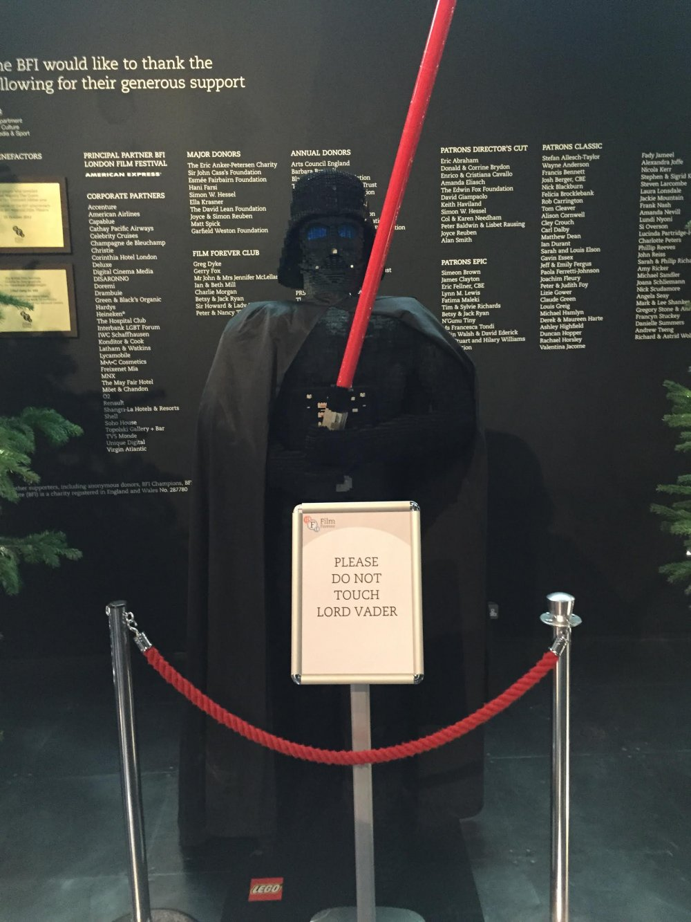 Star Wars Day exhibit