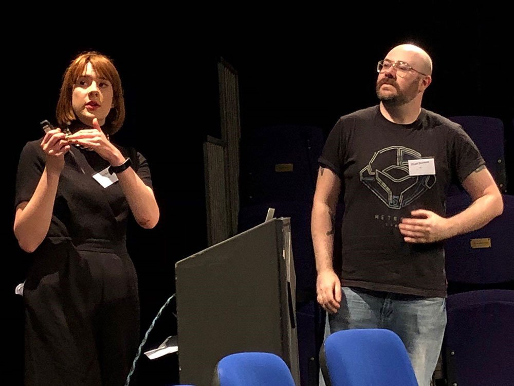 Julia Brown and Stuart Burnside (BFI Certification) present the video games tax relief