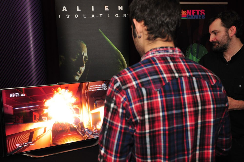 The relaxed atmosphere didn't detract from the tension in Alien: Isolation by Creative Assembly.