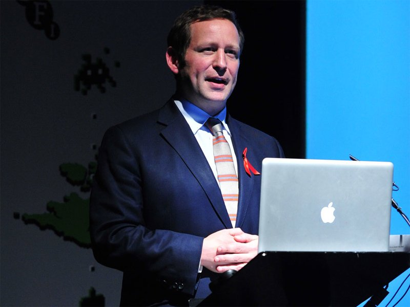 Ed Vaizey MP closes Video Games Day.