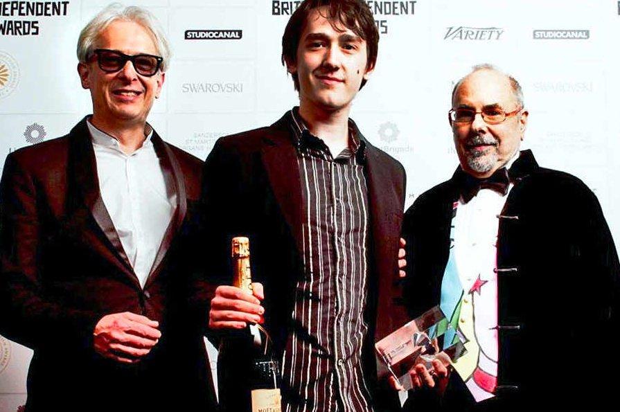 Robert Savage at the British Independent Film Awards