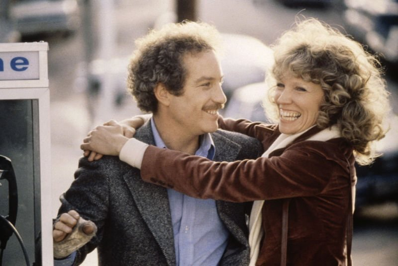 With Richard Dreyfuss in The Big Fix (1978)